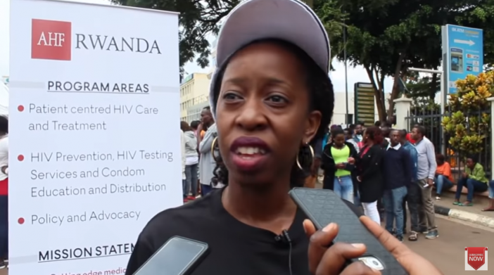 AHF-Rwanda tested people HIV/AIDS for free during Tour Du Rwanda 2019